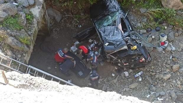 Bayram dönüşü feci kaza! 1 ölü, 3'ü çocuk 7 yaralı