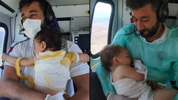 Beril bebek sarılmış, Türkiye ağlamıştı! 3 ay sonra bu kez Zeynep bebek, acil tıp teknisyeni Mehmet Canko'nun kucağında