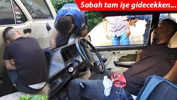 Bursa'da akılalmaz olay: Otomobilde uyurken yakalandı, verdiği cevap şoke etti!