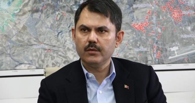 Çevre ve Şehircilik Bakanı Kurum: 'Ciğerlerimiz yandı'