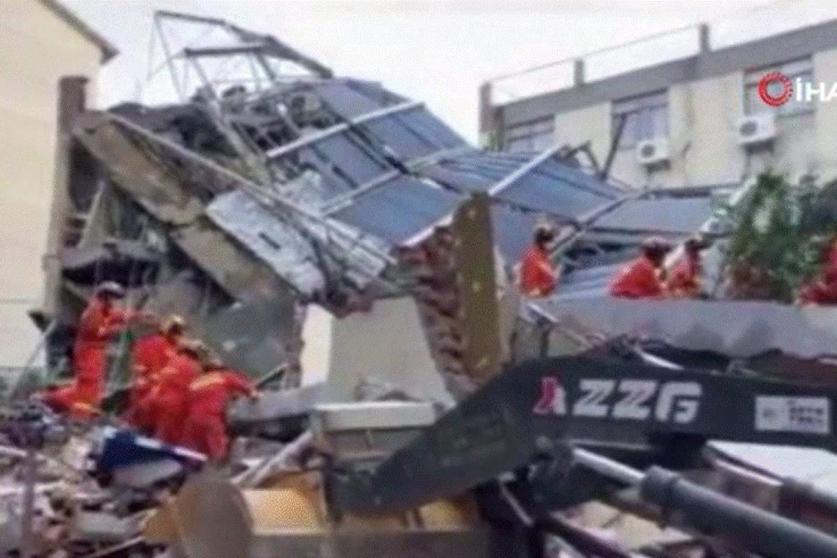 Çin'deki otel faciasında ölü sayısı 17'ye yükseldi
