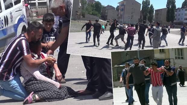 Erzurum'da ortalık fena karıştı!