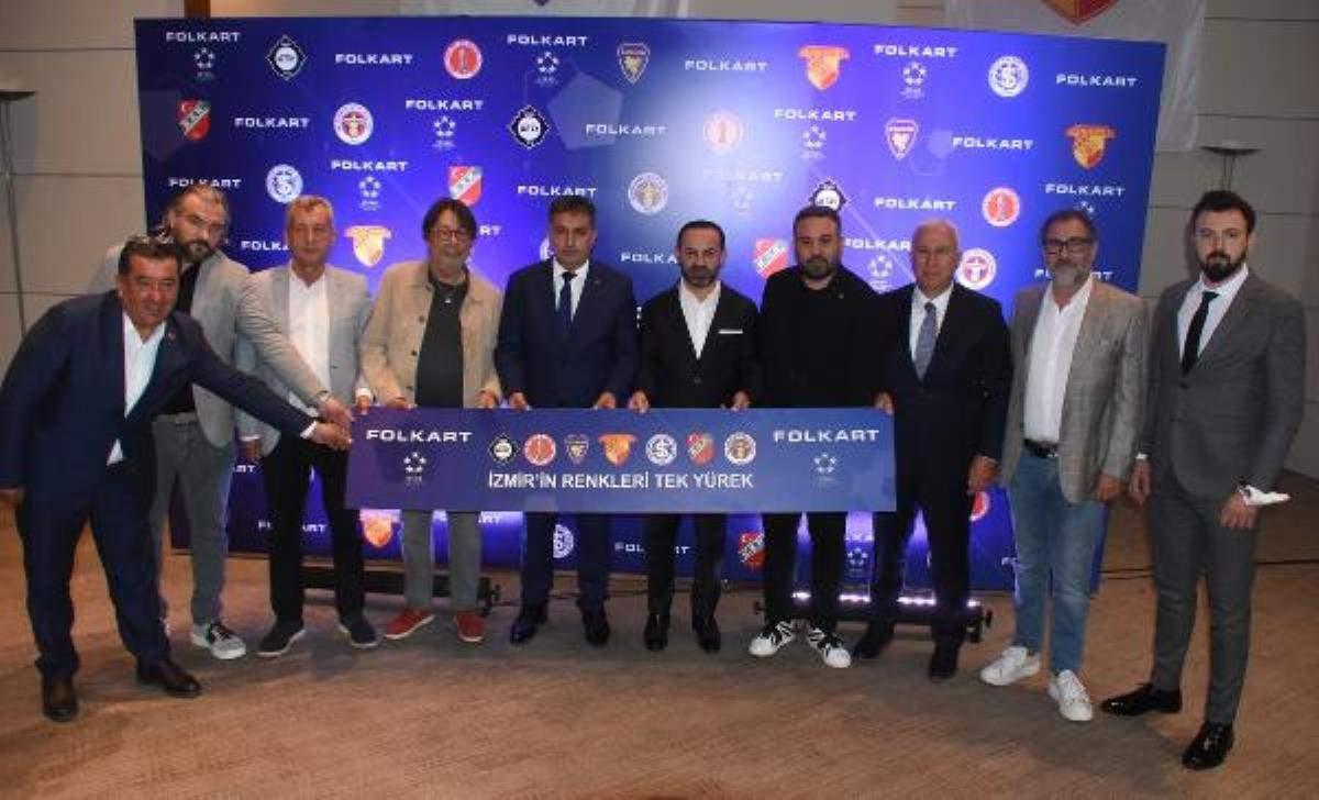 Folkart İzmir in 7 spor kulübüne forma göğüs sponsoru oldu