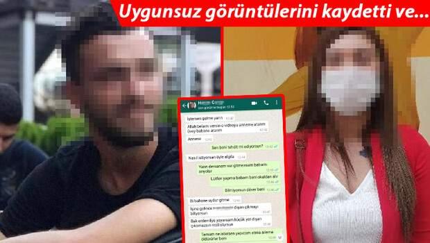 Genç kızın hayatını kâbusa çevirdi! Uygunsuz görüntülerini kaydetti ve… WhatsApp konuşmaları ortaya çıktı