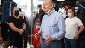 İçişleri Bakanı Süleyman Soylu: Derenin üzeri açılacak