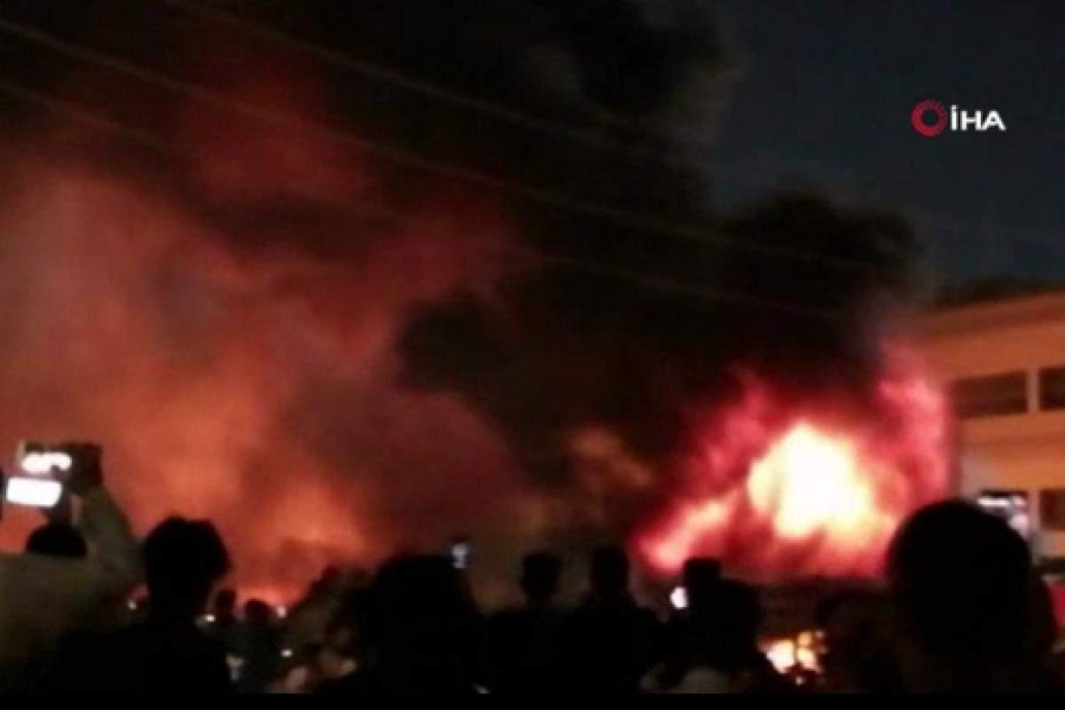 Irak'ta hastane yangınında can kaybı 64'e yükseldi
