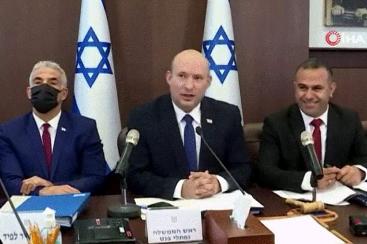 İsrail Başbakanı Bennett: 'Gazze Şeridi'nden başlatılan herhangi bir saldırıya sert bir şekilde karşılık verilecek'