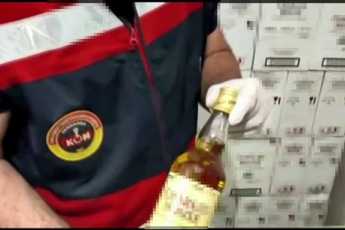 İstanbul'da sahte içki operasyonu: Markaları birebir taklit etmişler