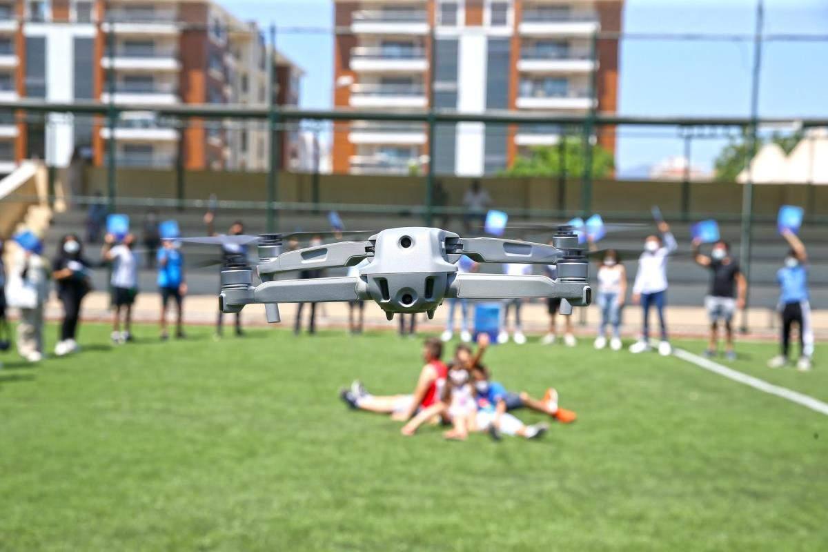 Karşıyaka da drone eğitimi tamamlandı