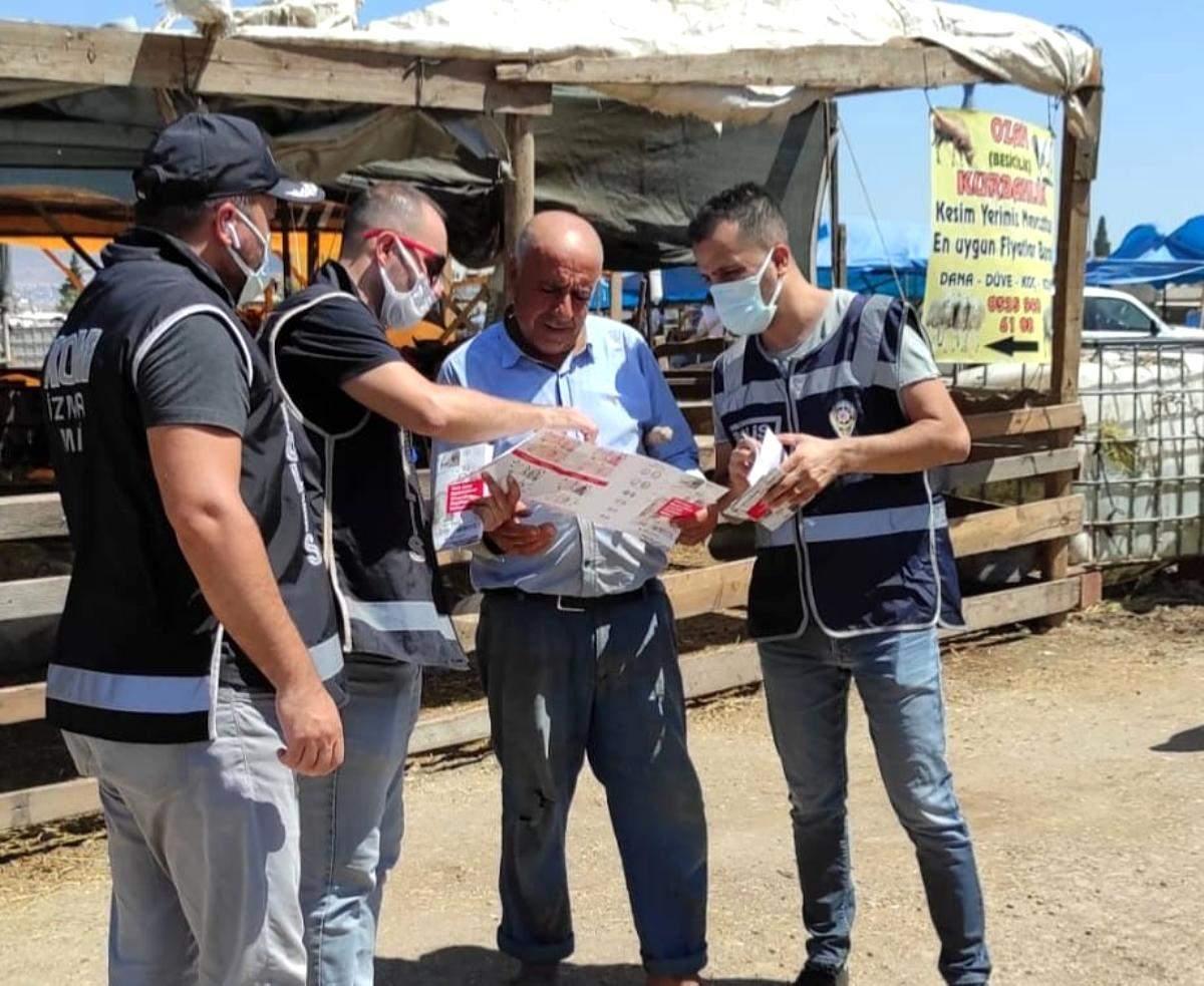 Kurban pazarında  sahte para  uyarısı