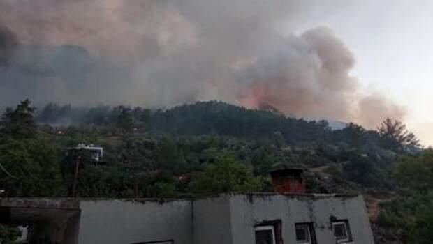 Manavgat'taki büyük yangında son durum… Cumhurbaşkanı Erdoğan bölgeye gidiyor