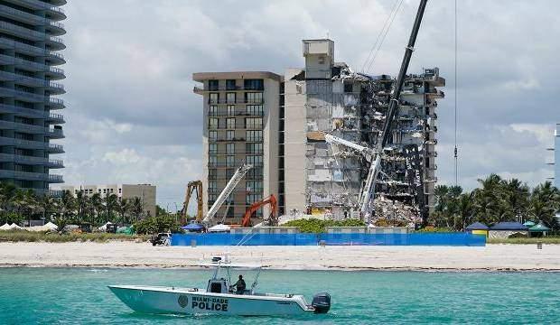 Miami'de çöken binada ölü sayısı 64'e yükseldi