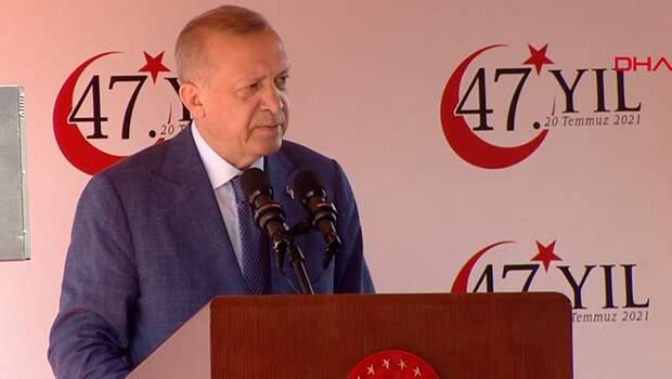 Son dakika: Cumhurbaşkanı Erdoğan'dan KKTC'de önemli açıklamalar