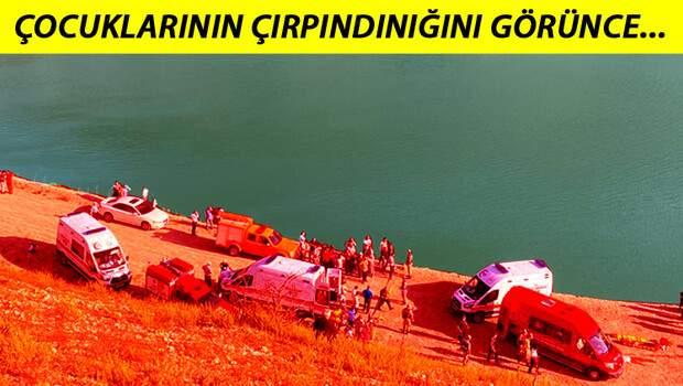 Son dakika haberleri: Günün en acı haberi… Amasya'da baraj gölünde aile faciası!