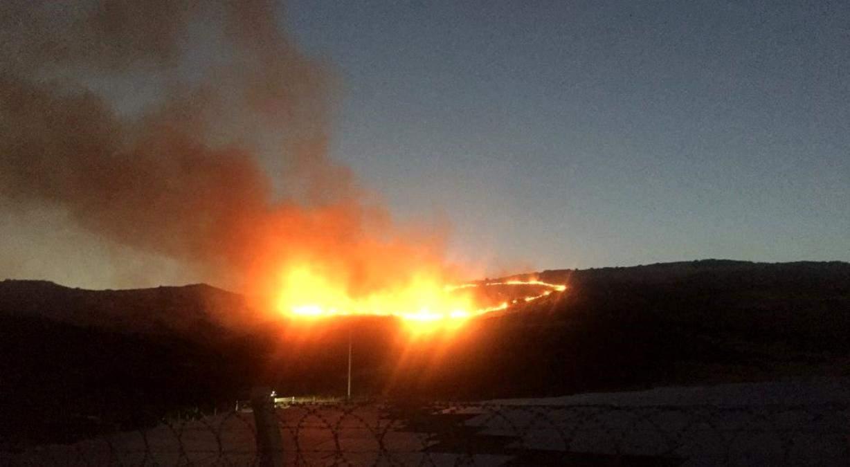 Son dakika… İzmir de otluk alanda yangın