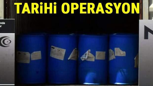 Son dakika… İzmir'de dev operasyon: Tek seferde ele geçirilen en fazla miktar!