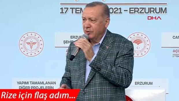 Son dakika… Rize'de sel felaketi… Cumhurbaşkanı Erdoğan: O bölgeler afet bölgesi olacak