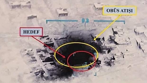Suriye'de PKK/YPG'ye Fırtına ateşi