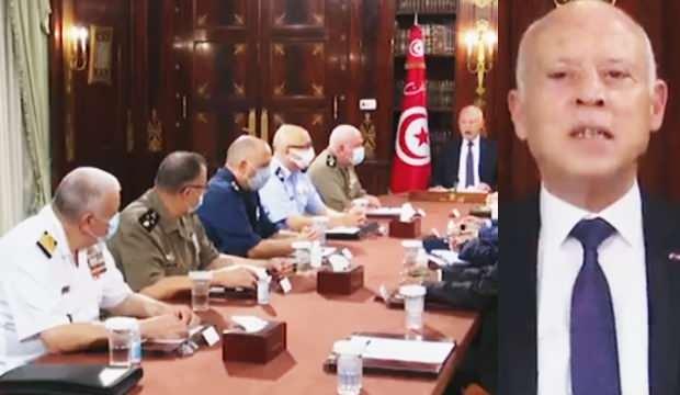 Tunus'da darbe girişimi! Cumhurbaşkanından tehdit: Gücümüzü gösteririz