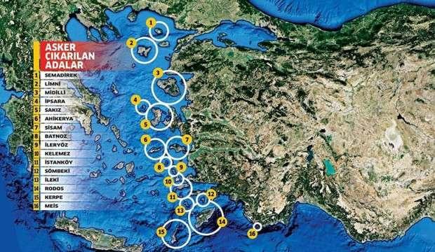 Yunanistan Türkiye'ye karşı 23 adayı silahlandırıyor