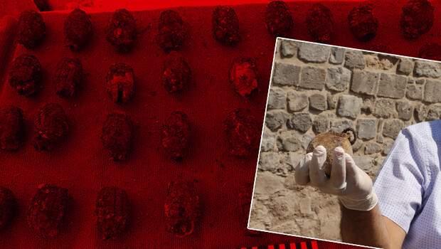 Diyarbakır'da 782 adet bulundu! Merak uyandıran keşif