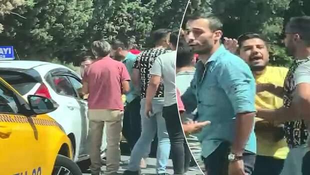 Esenyurt'ta taksi şoförü dehşeti