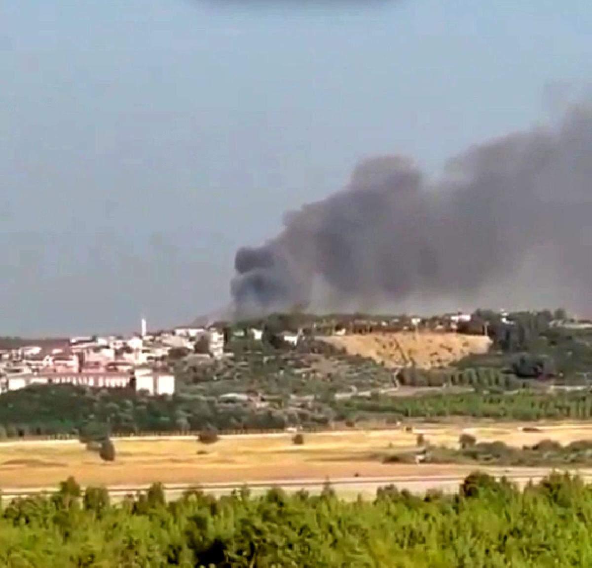 Son dakika haber! İzmir de orman yangını