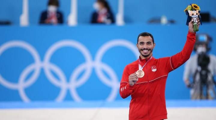Türkiye cimnastikte ilk olimpiyat madalyasınıFerhat Arıcan'la aldı
