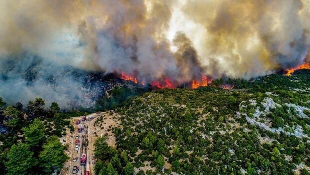 Yangın bölgelerinde hava ne zaman serinleyecek? Uzmanlar anlatıyor…