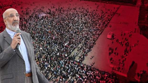 Aşı karşıtları Maltepe'ye akın etti… Abdurrahman Dilipak: Biz bu oyunu bozacağız