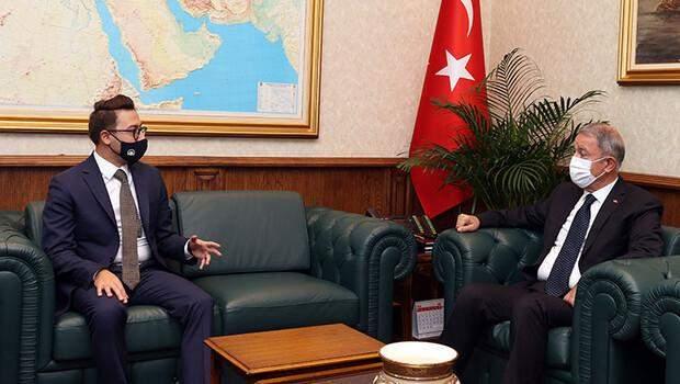 Bakan Akar, AA Genel Müdürü Karagöz'ü kabul etti