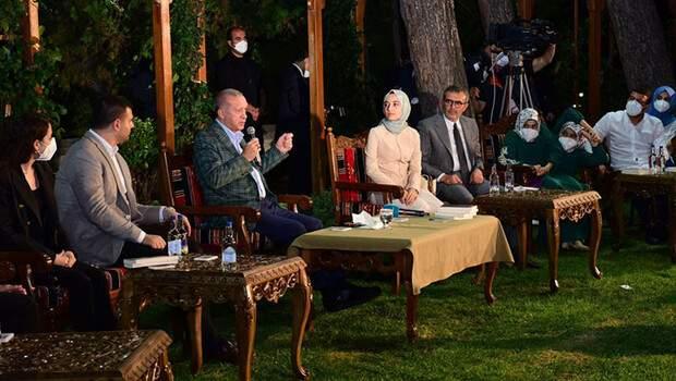 Cumhurbaşkanı Erdoğan Kahramanmaraş'ta gençlerle buluştu