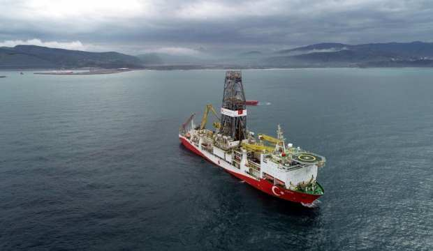 Fatih gemisi, Türkali-5'te sondaja başladı