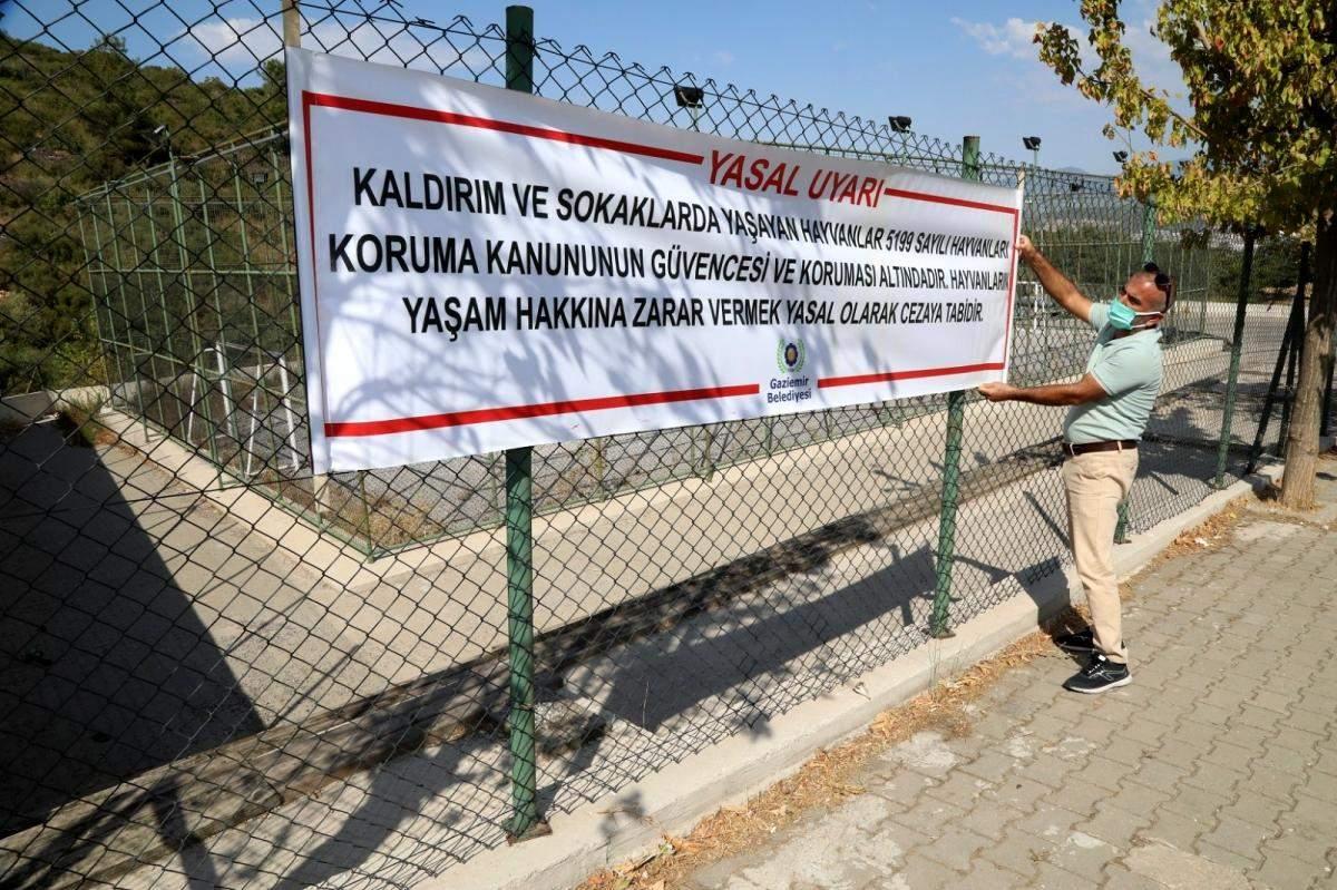 Gaziemir Belediyesi, can dostların yaşam hakkına dikkat çekiyor