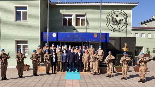 İçişleri Bakanı Soylu, Şırnak'ta incelemelerde bulundu