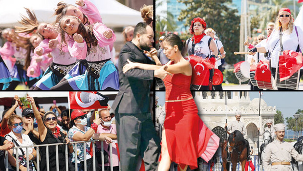 İzmir'de 99'uncu yıl kutlamaları: Kurtuluş coşkusu