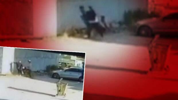 Kız kardeşinin videosunda gördü, tekme tokat dövdü! Yere yığıldı…