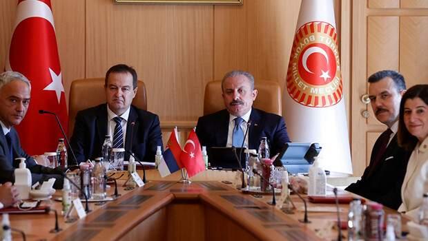 Meclis Başkanı Şentop, Sırp mevkidaşıyla görüştü