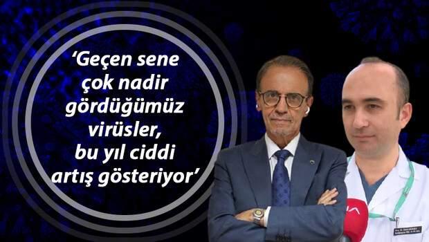Prof. Dr. Mehmet Ceyhan: İki virüs aynı anda vücutta bulunabilir