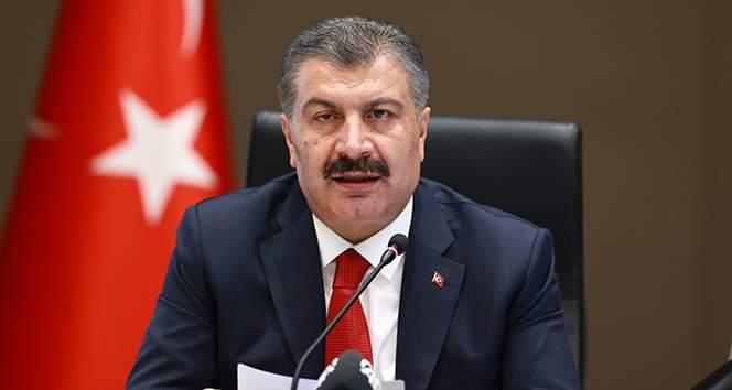 """Sağlık Bakanı Koca: """"Yozgat ve Erzurum risk haritasında mavi iller arasında"""""""
