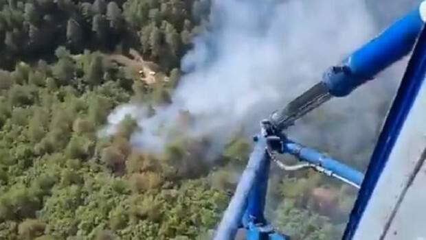Son dakika: Balıkesir'de orman yangını! Havadan ve karadan müdahale ediliyor