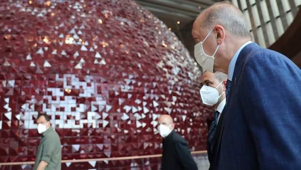 Son dakika… Cumhurbaşkanı Erdoğan'dan AKM ve Rami Kışlası'na ziyaret!