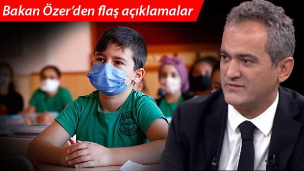 Son dakika! Okullarda PCR testi zorunlu mu? Milli Eğitim Bakanı Mahmut Özer'den yanıt
