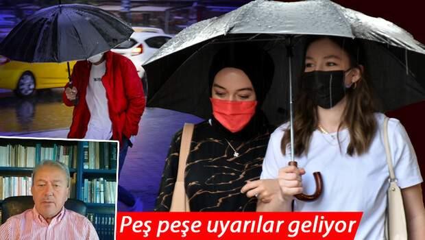 Son dakika… Peş peşe uyarılar geliyor! Prof. Dr. Şen pazartesi gününü işaret etti: Yağış kütlesi geliyor