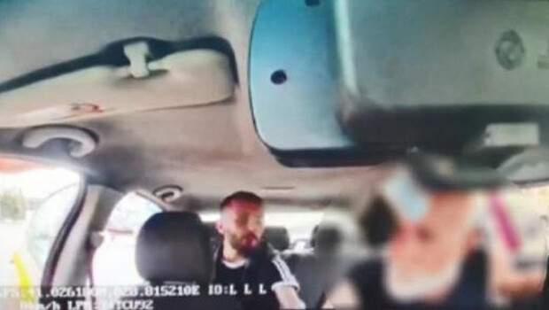 Takside dehşet! Araç içi görüntüleri ortaya çıktı