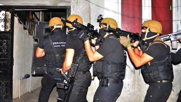Terör örgütü DEAŞ'ın Yamaçlı grubuna operasyon! 14 gözaltı…
