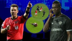 Adana Demirspor-Öznur Kablo Yeni Malatyaspor maçında Mario Balotelli'den olay hareket!