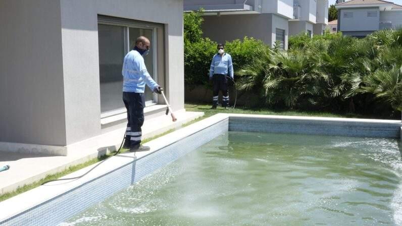 Çeşme Belediyesi sivrisinekle mücadelede önemli bir adım attı