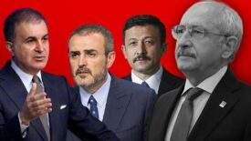 Son dakika… CHP lideri Kılıçdaroğlu'nun açıklamalarına AK Parti'den peş peşe tepkiler