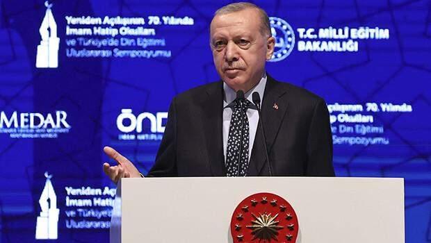 Son dakika… Cumhurbaşkanı Erdoğan: İmam hatiplerin fetret dönemini biz bitirdik